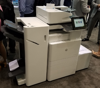 New HP LaserJet A3 MFP